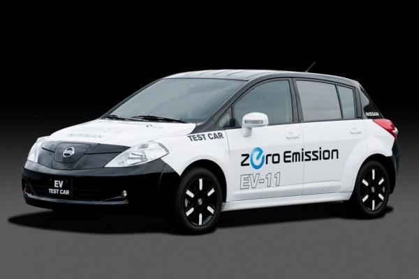 Neuer Elektroauto-Prototyp von Nissan