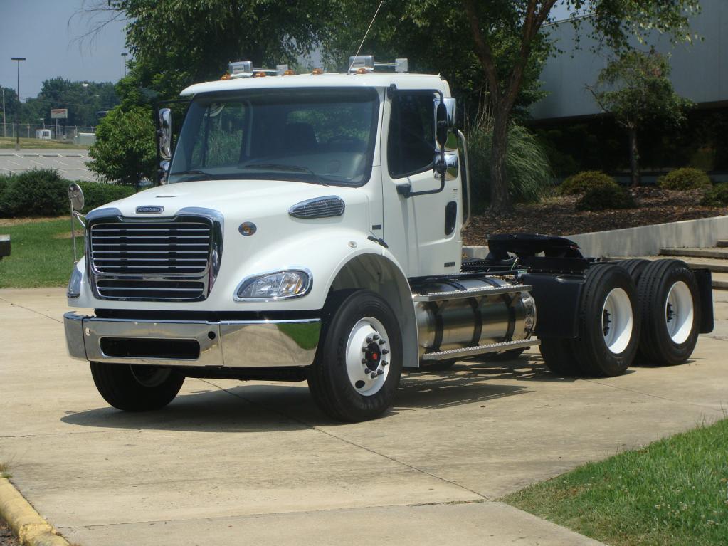 Neuer Erdgas-Lkw für USA