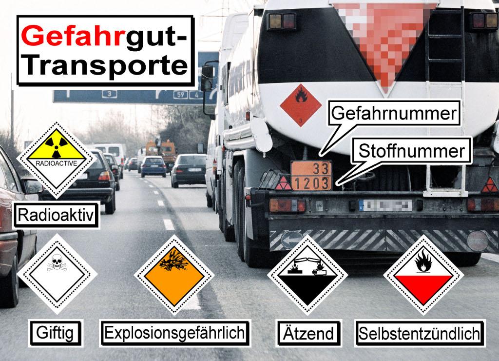 Niveau von Gefahrguttransporten konstant