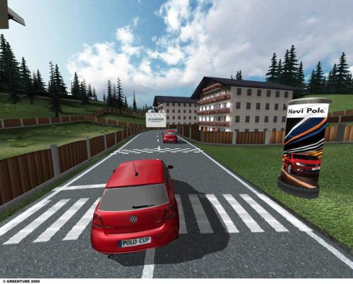 Online-Spiel zum neuen VW Polo