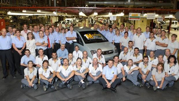 Opel Meriva ist Millionär