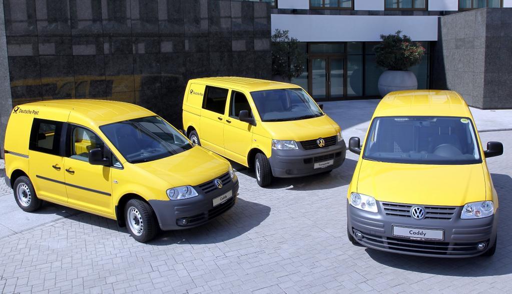Post bestellt 2400 Volkswagen Caddy und T5
