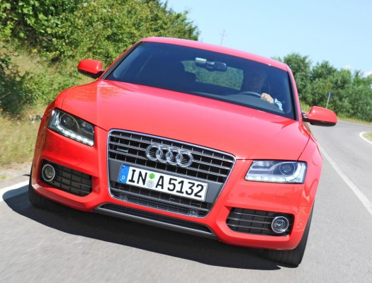 Presse-Präsentation Audi A5 Sportback: Bella Machina