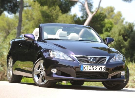 Presse-Präsentation Lexus IS 250 C: Eine Lücke weniger
