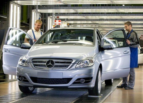 Produktionsjubiläen für Mercedes-Benz A- und B-Klasse
