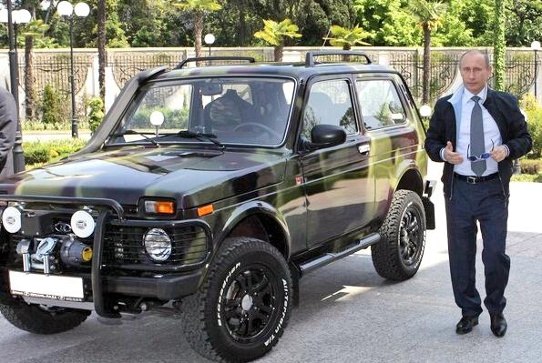 Putin legte sich einen Lada zu