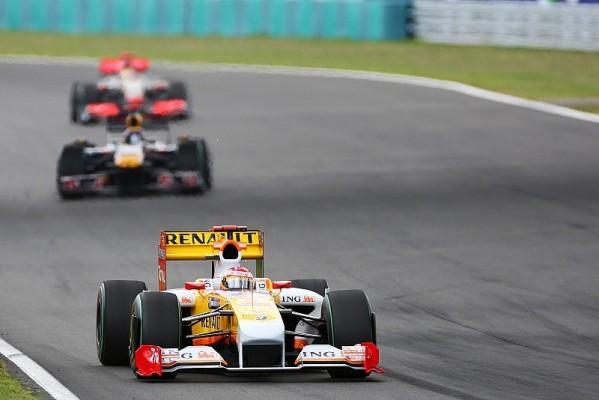 Renault: Ein Rennen gesperrt: Nicht in Valencia dabei