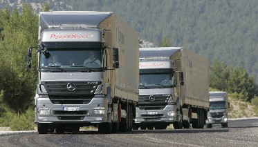 Schlechte Zeiten für Transportgewerbe