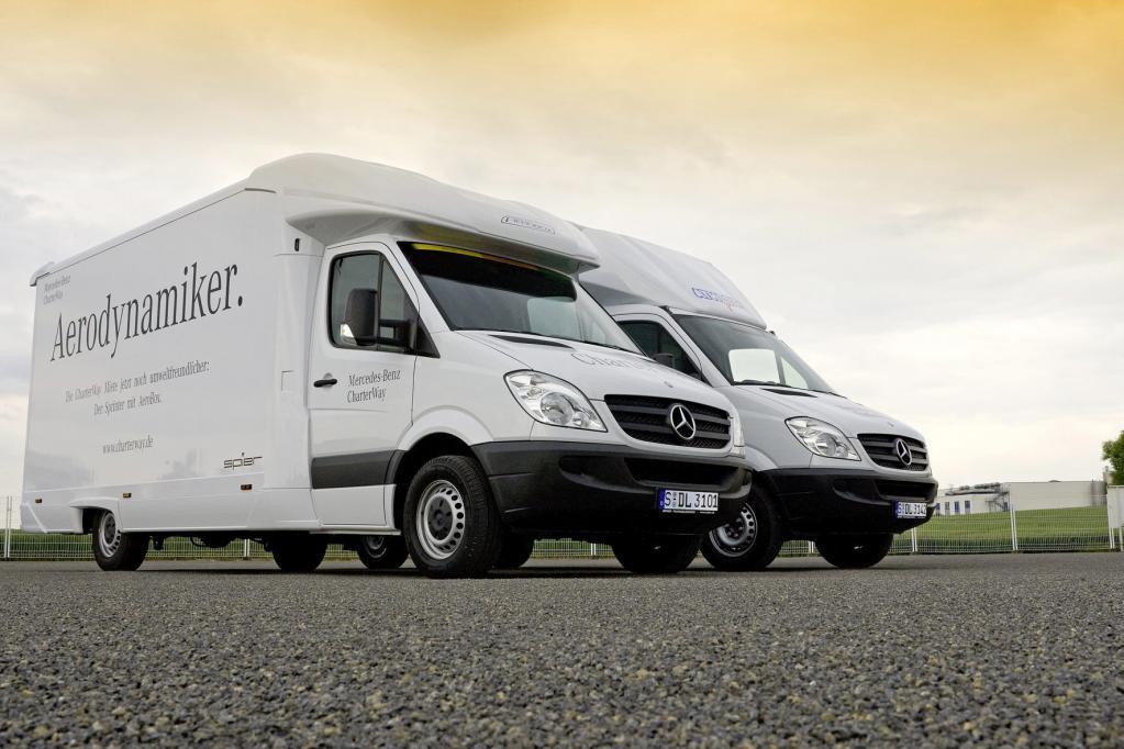 Spritspar-Aufbau für Mercedes-Benz Sprinter