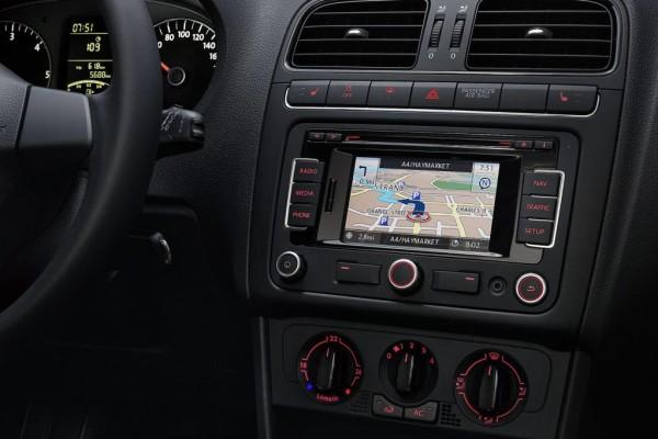 Touchscreen-Navi für VW Polo