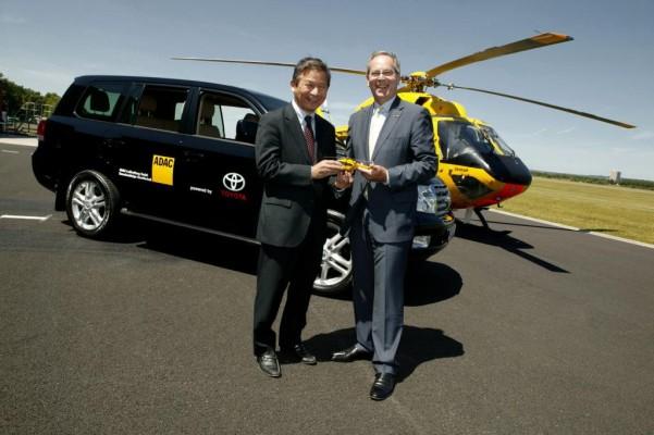 Toyota Land Cruiser für die Luftrettung