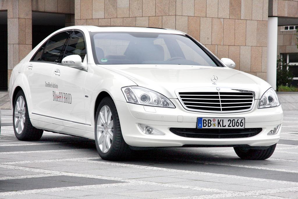 Umweltzertifikat für Mercedes-Benz S 400 Hybrid