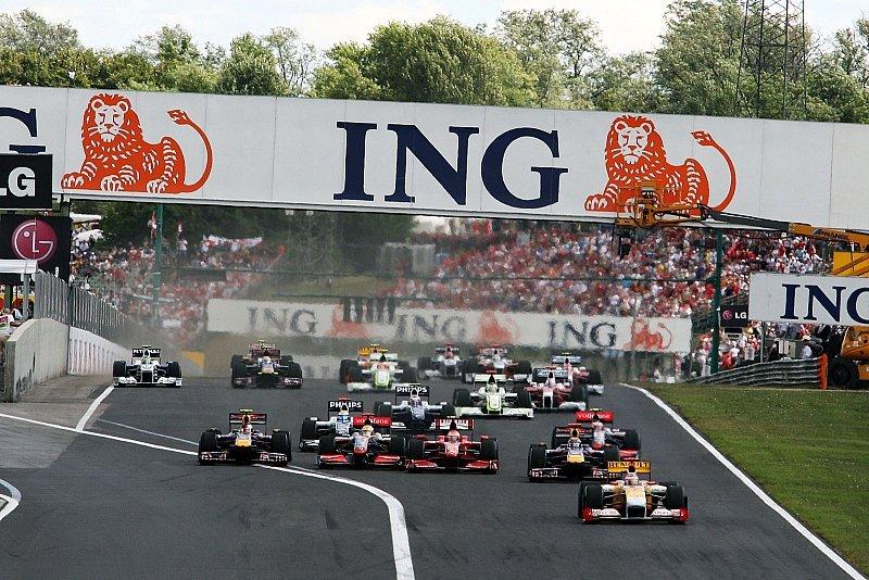 Ungarn GP: Hamilton gewinnt vor Räikkönen