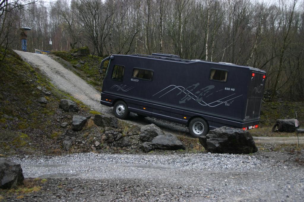 Volkner Mobil 830 HG Adventure Line: Ach Du dickes Ding