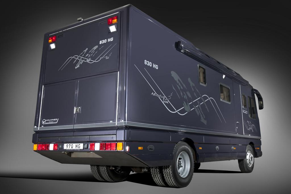 Volkner Mobil 830 HG Adventure Line: Ach Du dickes Ding - Bild(2)