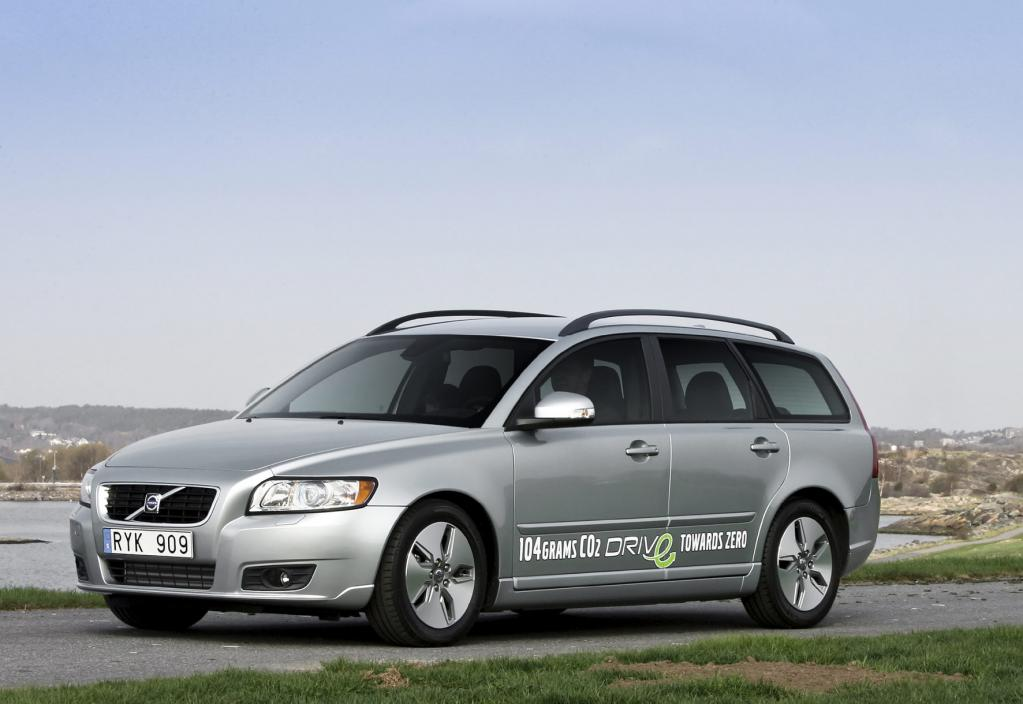 Volvo V50 DRIVe: Sparsam wie ein Hybridfahrzeug