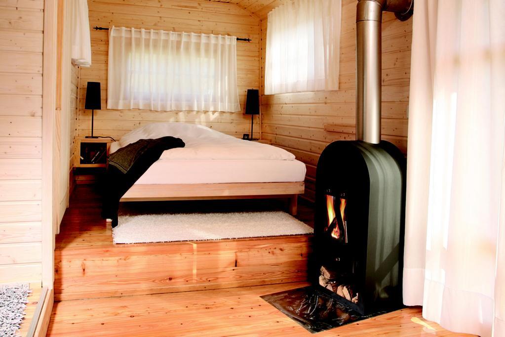 Zurück zur Natur: Nostalgie-Wohnwagen aus Holz