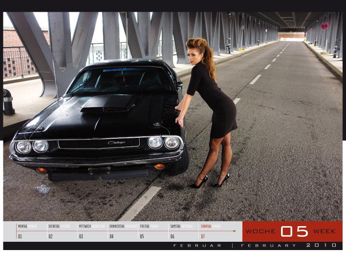 'Girls & legendary US-Cars' - Wochenkalender 2010 von Carlos Kellá erschienen! - Bild(3)