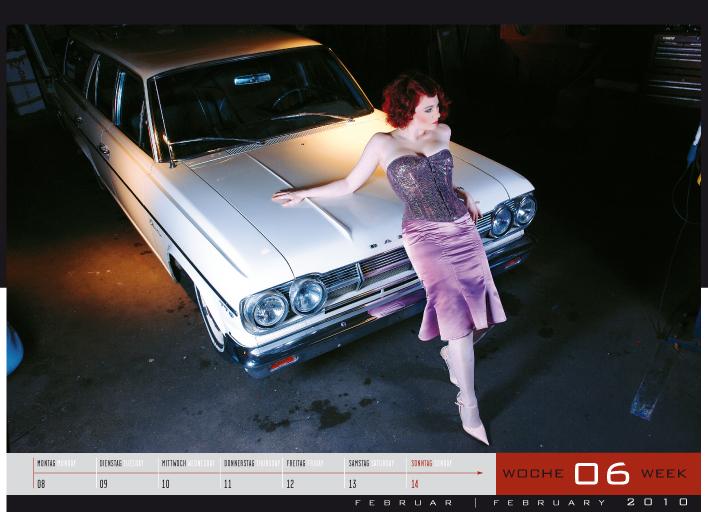 'Girls & legendary US-Cars' - Wochenkalender 2010 von Carlos Kellá erschienen! - Bild(4)