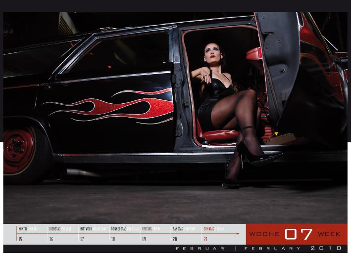 'Girls & legendary US-Cars' - Wochenkalender 2010 von Carlos Kellá erschienen! - Bild(5)