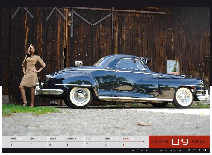 'Girls & legendary US-Cars' - Wochenkalender 2010 von Carlos Kellá erschienen! - Bild(6)