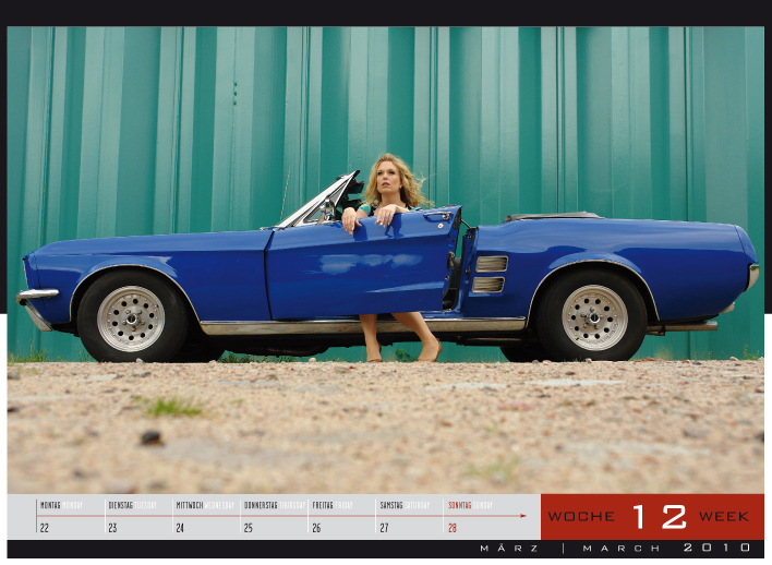 'Girls & legendary US-Cars' - Wochenkalender 2010 von Carlos Kellá erschienen! - Bild(8)