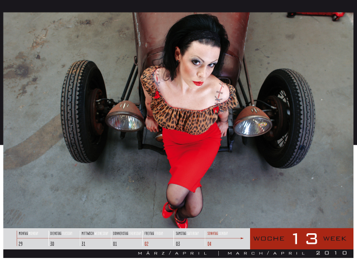 'Girls & legendary US-Cars' - Wochenkalender 2010 von Carlos Kellá erschienen! - Bild(9)