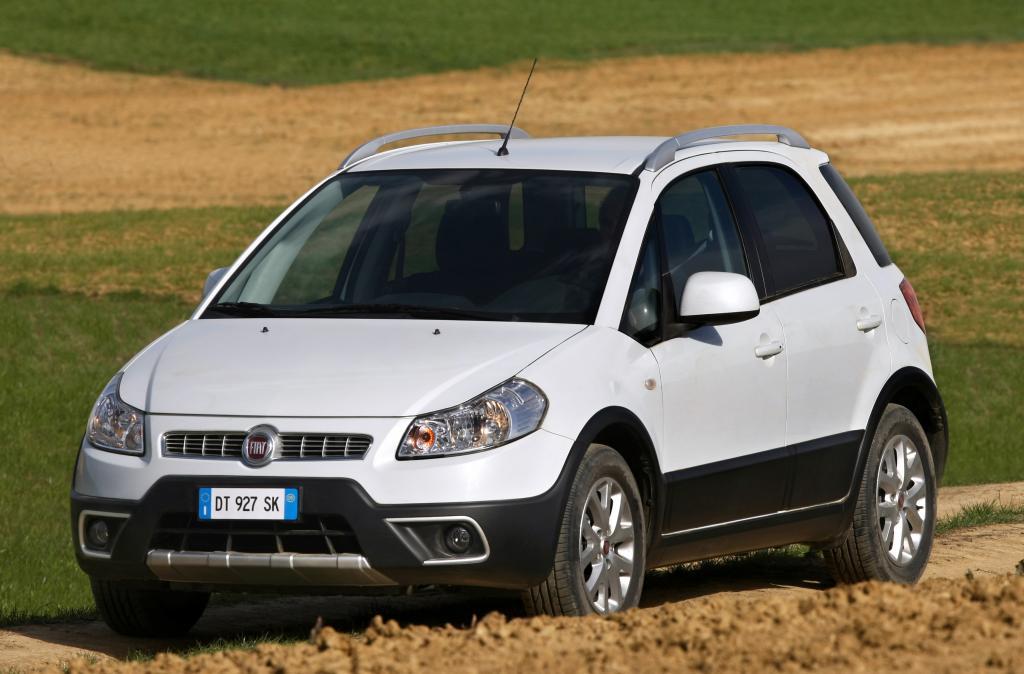 Überarbeiteter Fiat Sedici mit verbesserten CO2-Werten