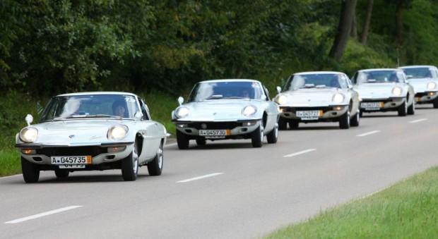 19 Mazda Cosmo 110 Sport kamen in Gersthofen zusammen