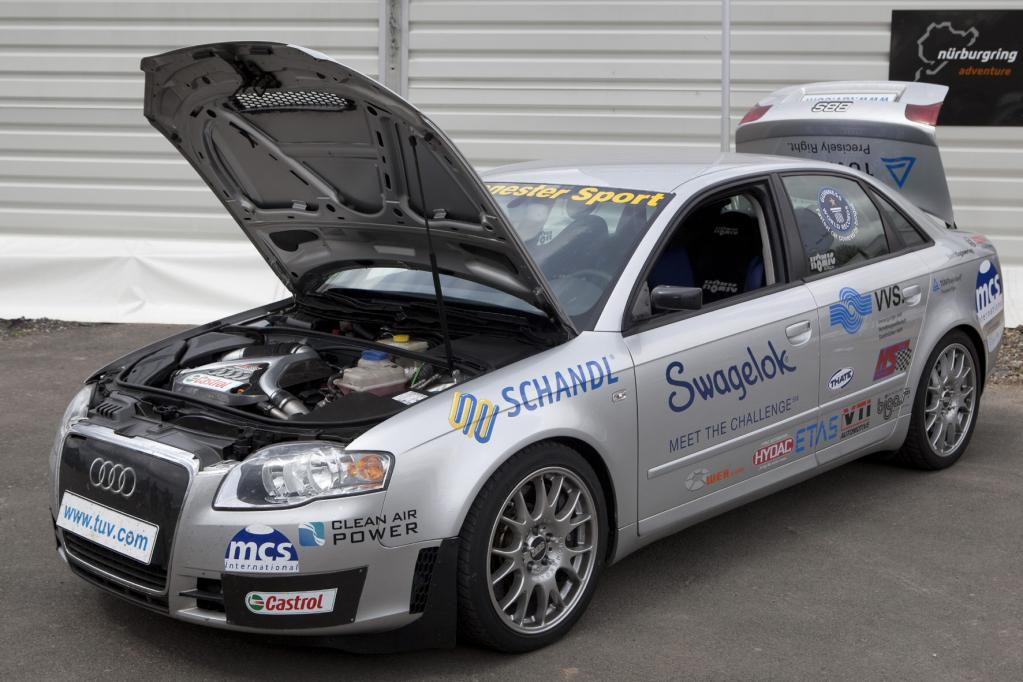 364 km/h - Weltrekord mit Biogas