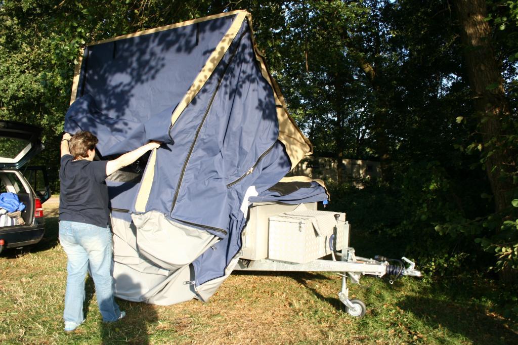 3Dog Camping Offroader: Mit dem Zeltanhänger ins Gelände - Bild(3)