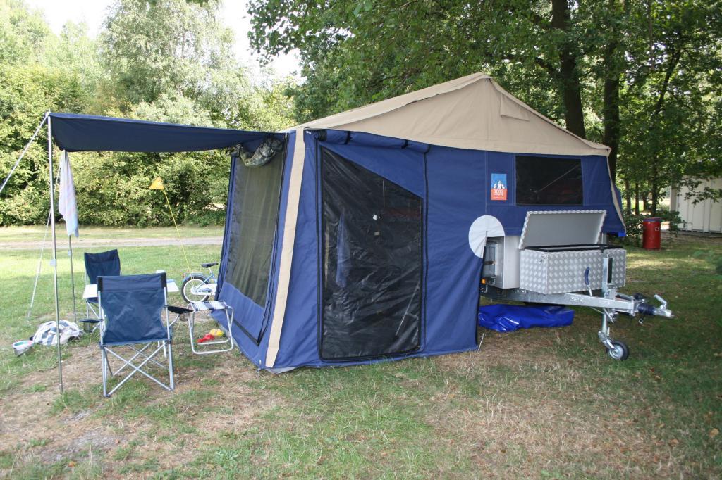 3Dog Camping Offroader: Mit dem Zeltanhänger ins Gelände - Bild(4)