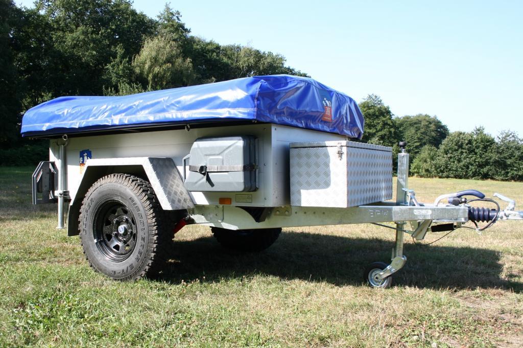 3Dog Camping Offroader: Mit dem Zeltanhänger ins Gelände