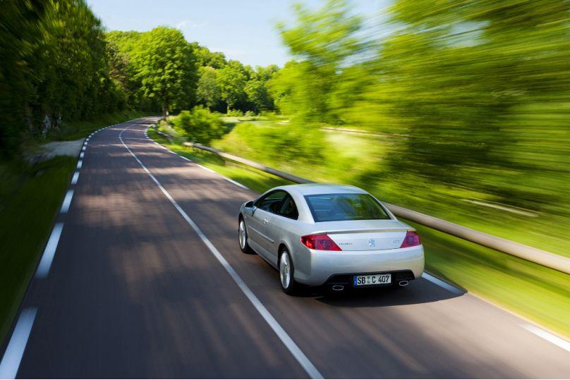 407: Peugeot 407 Coupé: Power-Diesel für den eleganten Franzosen