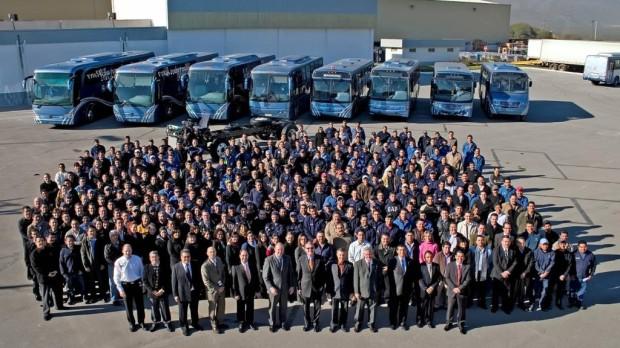 50 000 Mercedes-Benz-Busse in Mexiko gebaut