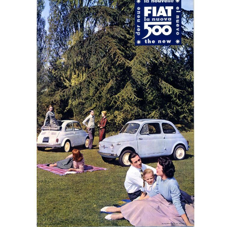 500: Fiat Topolino Club wird 15 Jahre