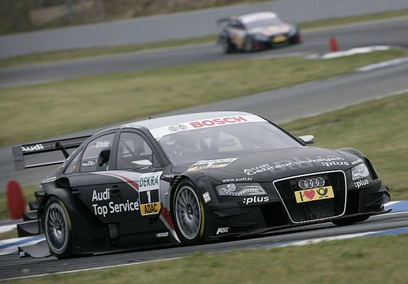 Audi kommt mit Vorsprung nach Brands Hatch: Scheider & Ekström ganz vorne