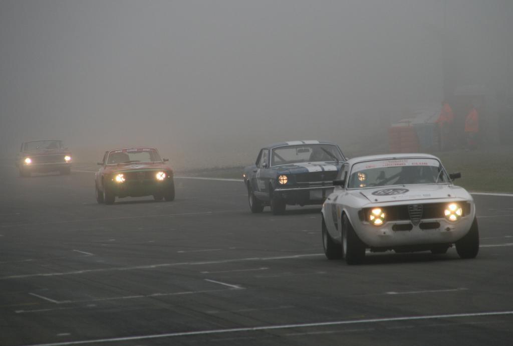 Avd-Oldtimer-Grand-Prix: Nebel und Sonnenschein auf dem Nürburgring - Bild