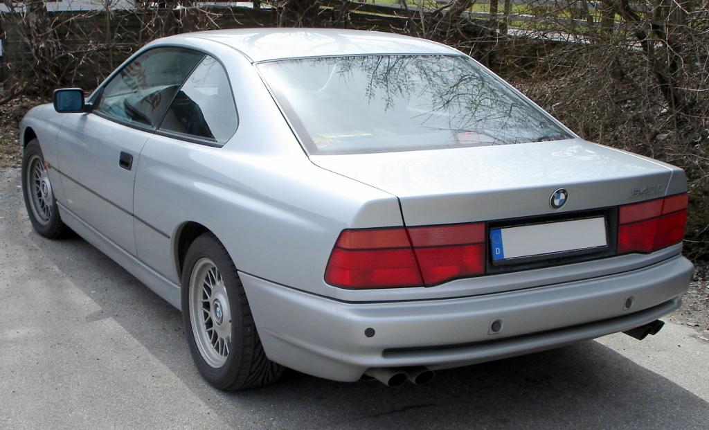 BMW 8er: Das wohl teuerste Coupé der Automobilgeschichte | BMW 840Ci (Heck) Foto: JanS Lizenz: [http://de.wikipedia.org/wiki/Datei:BMW_840_Ci_2.jpg GNU-Lizenz für freie Dokumentation].