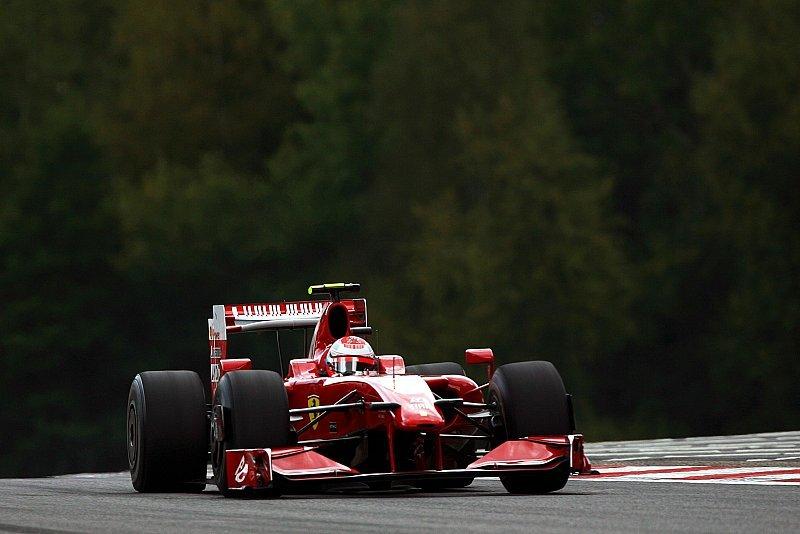 Belgien GP: Räikkönen gewinnt in Spa - Bild