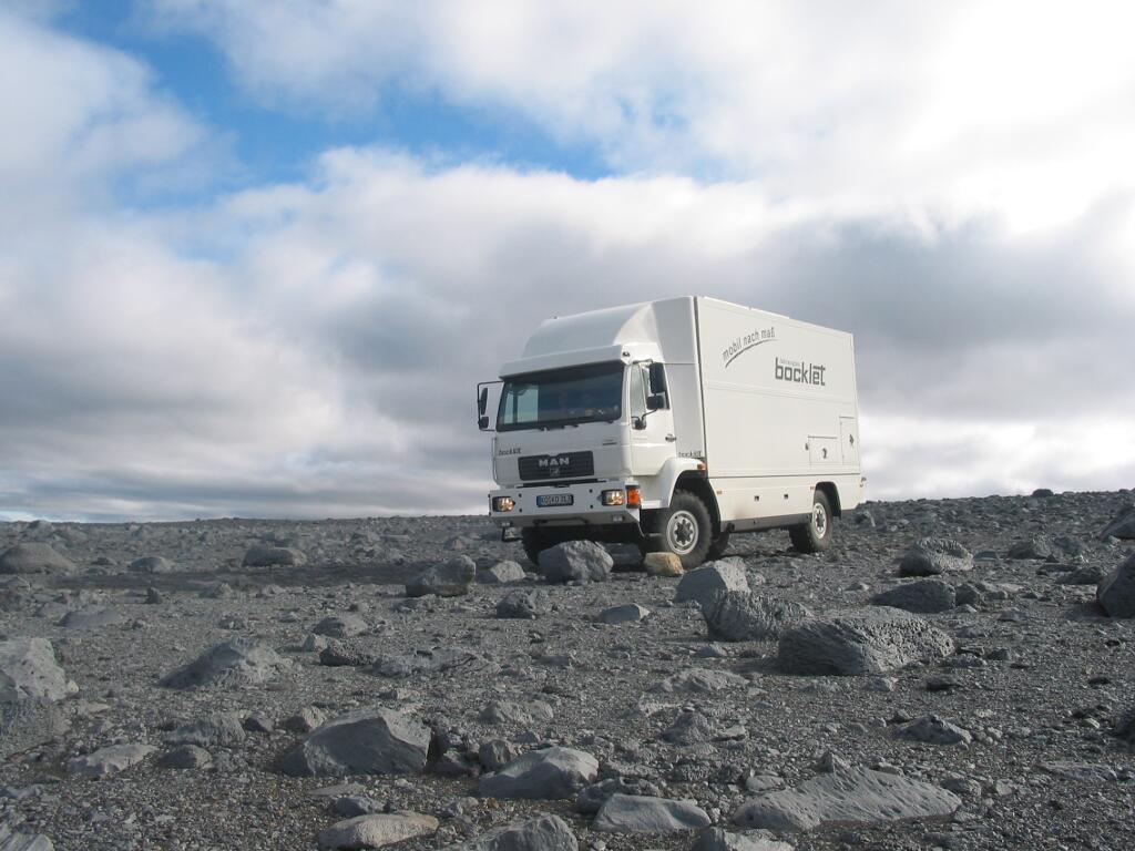 Bocklet Dakar 800: Hoch hinaus - Bild