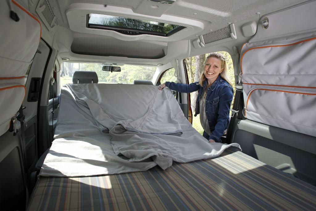 Caddy: Reimo bietet Schlafausbau für den Volkwagen Caddy Maxi