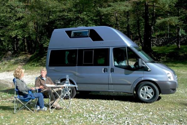Caravan-Salon 2009: Ford zeigt Reisemobile und neuen Ranger