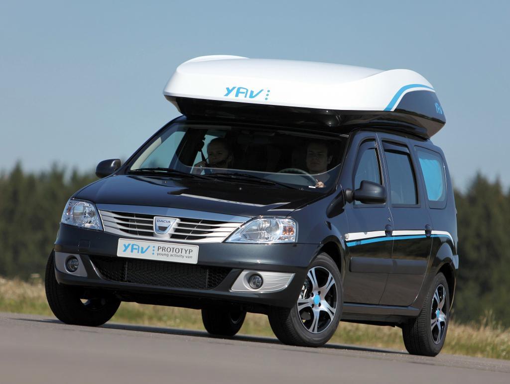 Caravan-Salon: Dacia stellt Deutschlands günstigstes Reisemobil vor - Bild