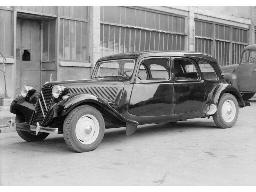 Citroën Traction Avant: Das Gangster-Mobil - Bild(5)