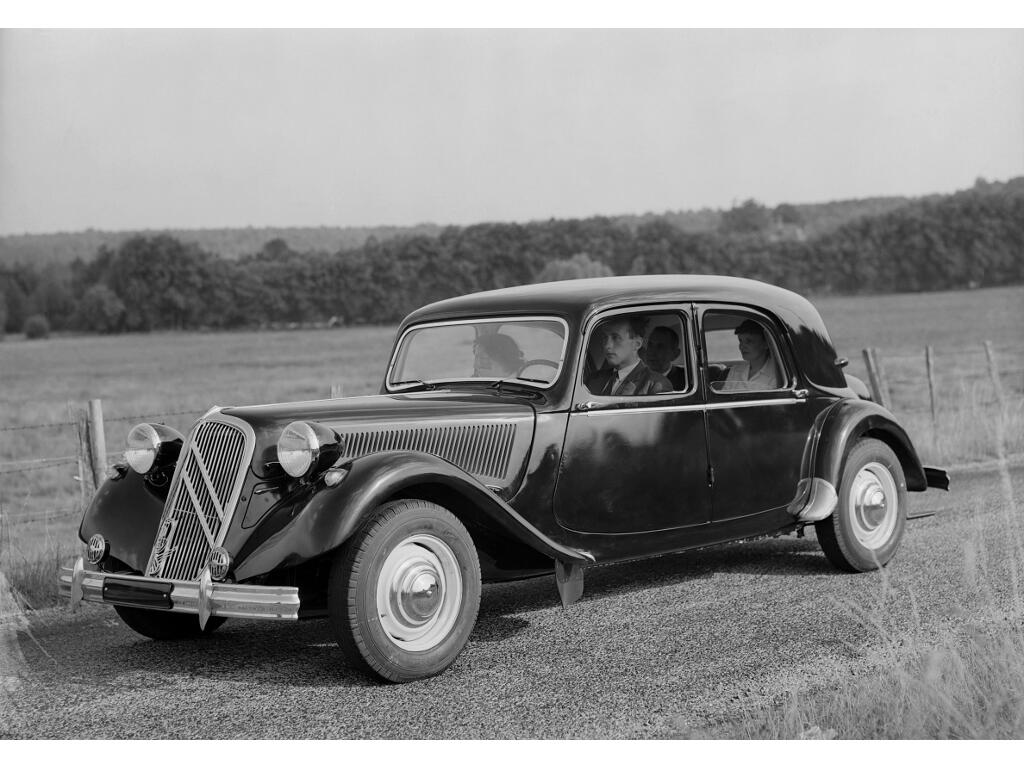Citroën Traction Avant: Das Gangster-Mobil - Bild
