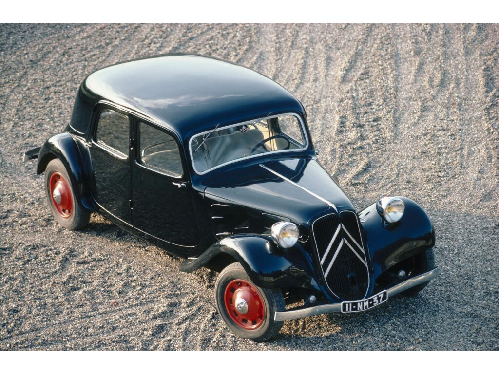 Citroën Traction Avant: Das Gangster-Mobil
