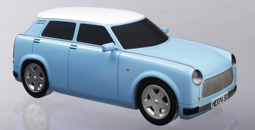 Der Trabant nT auf der IAA 2009 Automobilen Eindruck hinterlassen.