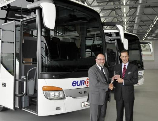 Deutsche Touring übernimmt zwei Setra S 416 GT-HD für neue Business-Linie