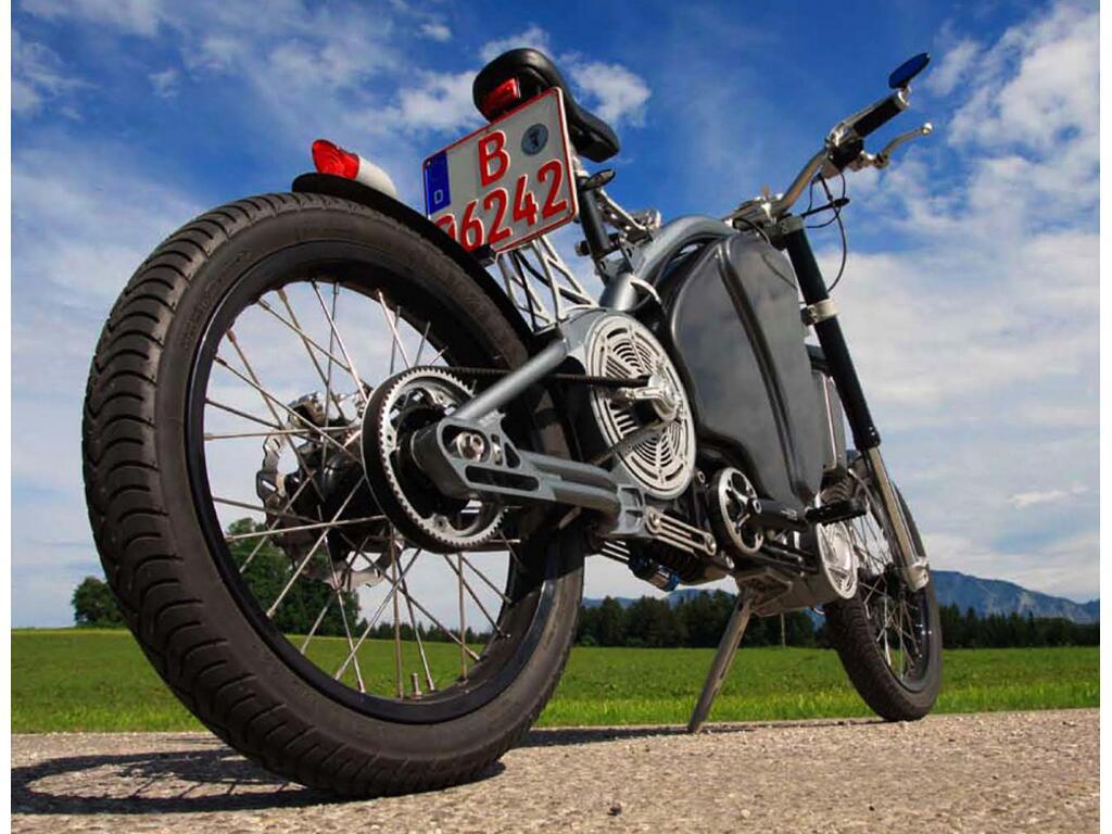 Erockit: Mensch-Maschine-Hybrid-Zweirad, handmade in Berlin - Bild(7)